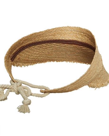 STRAW WOMENS ACCESSORIES RHYTHM HEADWEAR - ACC00W-HW05STR
