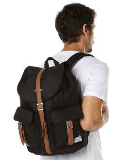 BLACK TAN MENS ACCESSORIES HERSCHEL SUPPLY CO BAGS + BACKPACKS - 10233-00001-OS