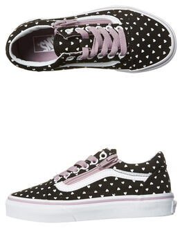 MICRO HEART SEA FROG KIDS GIRLS VANS SNEAKERS - VNA38HEOFJMICRO