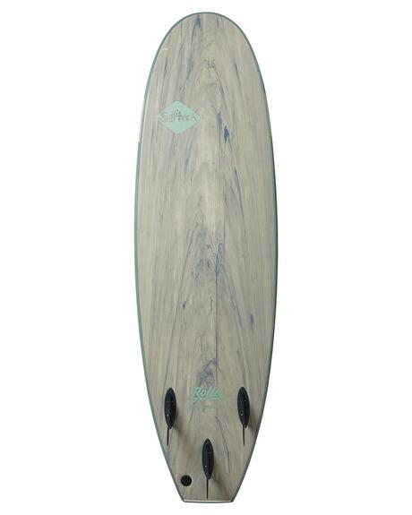 SMOKE GREEN BOARDSPORTS SURF SOFTECH SOFTBOARDS - ROLVF-SGM-060SGRN