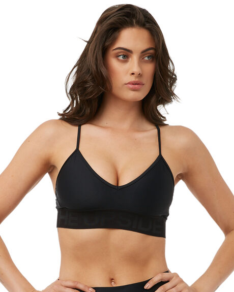 BLACK WOMENS CLOTHING THE UPSIDE ACTIVEWEAR - UPL1284BLK