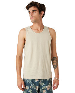 BONE MENS CLOTHING RHYTHM SINGLETS - JAN20M-CT12-BON