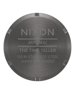 ALL GUNMETAL GREY MENS ACCESSORIES NIXON WATCHES - A0452090