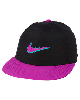 BLACK VIVID PURPLE MENS ACCESSORIES NIKE HEADWEAR - CQ9275-010