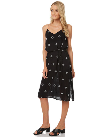 BLACK WOMENS CLOTHING ELEMENT DRESSES - 273868BLK
