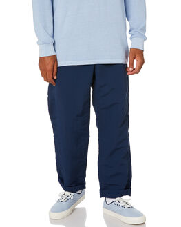 DRESS BLUES MENS CLOTHING VANS PANTS - VN0A49S7LKZDBLU