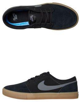 BLACK MENS FOOTWEAR NIKE SKATE SHOES - 880266-009