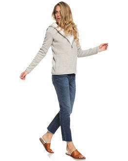 HERITAGE HEATHER WOMENS CLOTHING ROXY JUMPERS - ERJFT03891-SGRH