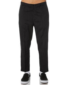 BLACK MENS CLOTHING NO NEWS PANTS - N5184191BLACK