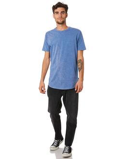 BLUE MENS CLOTHING SILENT THEORY TEES - 40X0018BLU