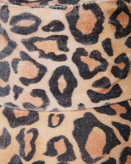 BROWN TAN WOMENS ACCESSORIES LACK OF COLOR HEADWEAR - LEOBUCK1BRN