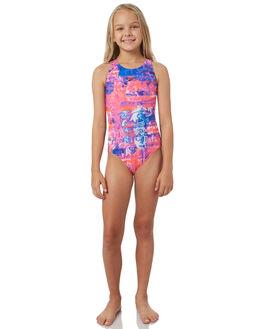 PAISLEY BLACK KIDS GIRLS SPEEDO SWIMWEAR - 4245D-7264PSBLK