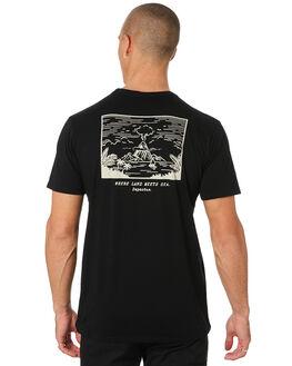 BLACK MENS CLOTHING DEPACTUS TEES - D5194000BLACK