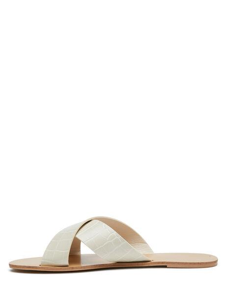 WHITE CLAY CROC OUTLET WOMENS BILLINI FASHION SANDALS - S694WHCLCR