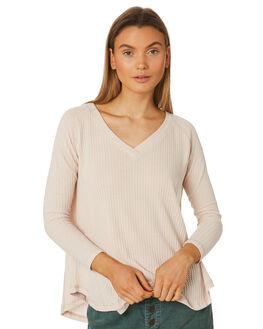 OATMEAL WOMENS CLOTHING RUSTY TEES - FSL0545OAT