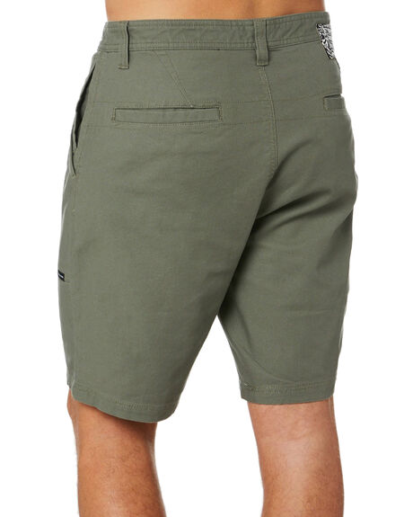 ARMY GREEN COMBO MENS CLOTHING VOLCOM SHORTS - A0922000ARC