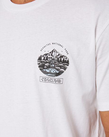 WHITE MENS CLOTHING DEPACTUS TEES - D5201014WHITE