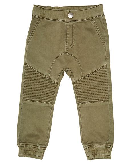 KHAKI KIDS BOYS ANIMAL CRACKERS PANTS - 3450032KHAK