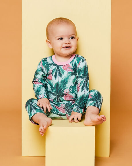 FLAMINGO PALM KIDS BABY PUMPKIN PATCH CLOTHING - 20B8010BSFLPLM