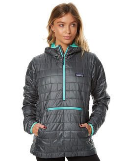 NOUVEAU GREEN WOMENS CLOTHING PATAGONIA JACKETS - 84196NUVG