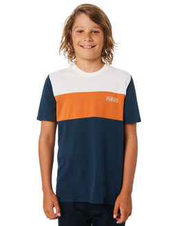 ARMORY NAVY KIDS BOYS HURLEY TOPS - BQ0735434