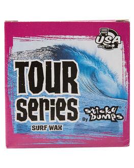 NATURAL BOARDSPORTS SURF STICKY BUMPS WAX - SB76CL-ANAT