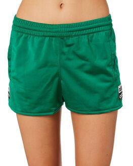 BOLD GREEN WOMENS CLOTHING ADIDAS SHORTS - EC0781BGRN