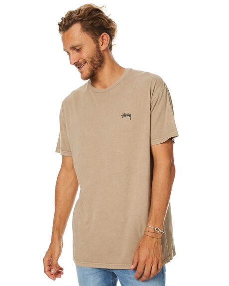 PIGMENT TAUPE MENS CLOTHING STUSSY TEES - ST077000PTPE