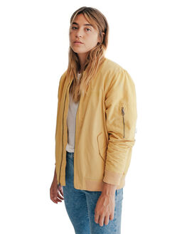 RATTAN WOMENS CLOTHING QUIKSILVER JACKETS - EQWJK03000-YHP0