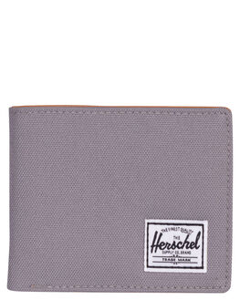 GREY TAN MENS ACCESSORIES HERSCHEL SUPPLY CO WALLETS - 10368-00006-OSGRY
