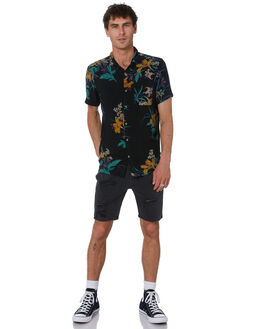 BLOWOUT BLACK MENS CLOTHING ROLLAS SHORTS - 151932286