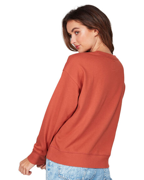 HENNA WOMENS CLOTHING BILLABONG JUMPERS - BB-6507731-HEN