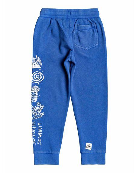DAZZLING BLUE KIDS BOYS QUIKSILVER PANTS - EQKFB03090-PPM0