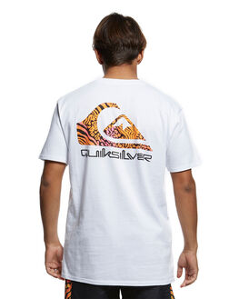 WHITE MENS CLOTHING QUIKSILVER TEES - EQYZT05660-WBB0
