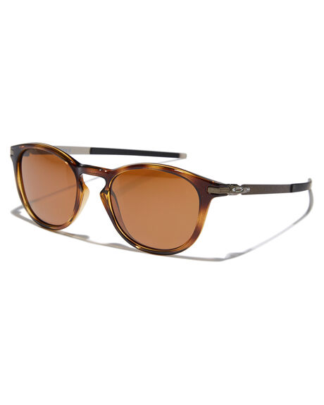 POLISHED BROWN TORT MENS ACCESSORIES OAKLEY SUNGLASSES - 0OO9439-0650
