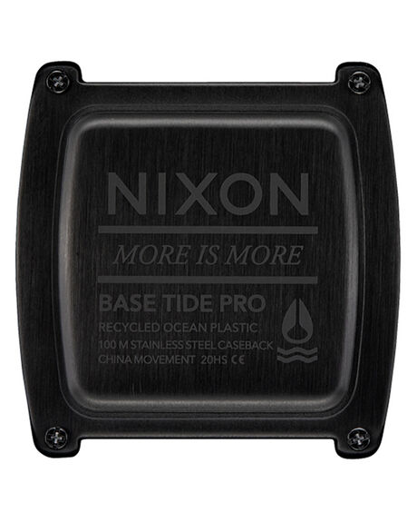 RED BLACK MENS ACCESSORIES NIXON WATCHES - A1307-209