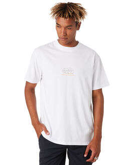 WHITE MENS CLOTHING THE CRITICAL SLIDE SOCIETY TEES - TE18151WHT