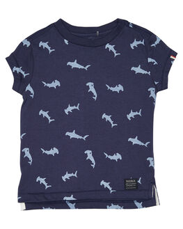 NAVY BLUE KIDS TODDLER BOYS ROOKIE BY THE ACADEMY BRAND TOPS - R19S410