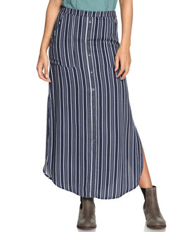 DRESS BLUES STRIPES WOMENS CLOTHING ROXY SKIRTS - ERJWK03045BTK3
