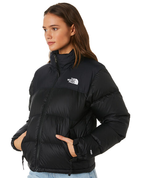 BLACK WOMENS CLOTHING THE NORTH FACE JACKETS - NF0A3JQRJK3