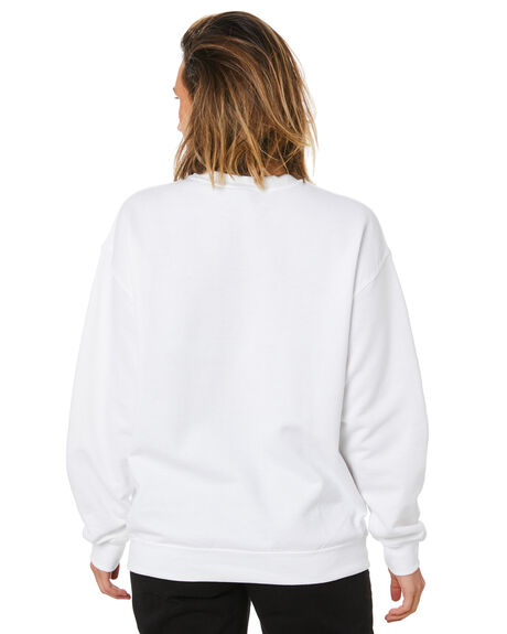 WHITE WOMENS CLOTHING UNIVERSAL JUMPERS - STONES662WHT
