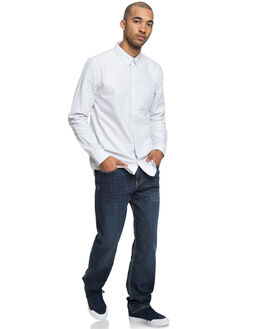 GLACIER GRAY MENS CLOTHING DC SHOES SHIRTS - EDYWT03209SEY0