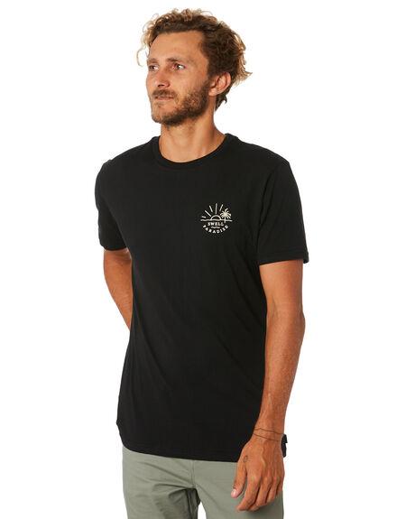 BLACK MENS CLOTHING SWELL TEES - S5193015BLACK