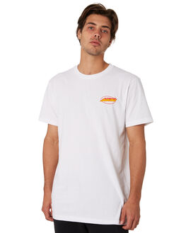 WHITE MENS CLOTHING SANTA CRUZ TEES - SC-MTA9141WHT
