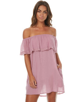 DUSTY ORCHID WOMENS CLOTHING RUSTY DRESSES - SCL0274DUO