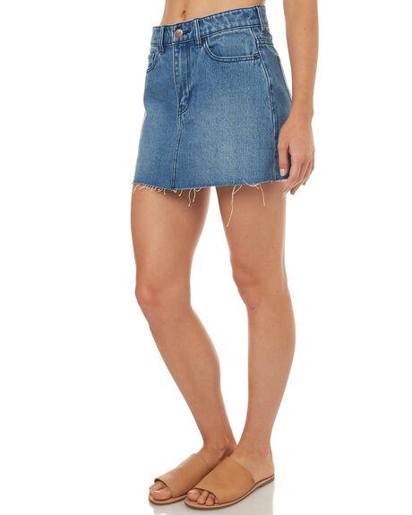 BAJA BLUE WOMENS CLOTHING LEE SKIRTS - L-656323F79
