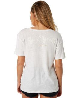 MARSHMALLOW WOMENS CLOTHING ROXY TEES - ERJZT04307WBT0