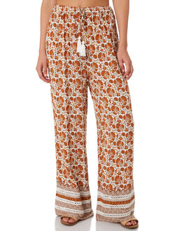 ORANGE WOMENS CLOTHING RIP CURL PANTS - GPAFF10030