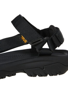 BLACK WOMENS FOOTWEAR TEVA FASHION SANDALS - T1019235BLK