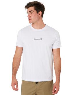 WHITE MENS CLOTHING RUSTY TEES - TTM2081WHT